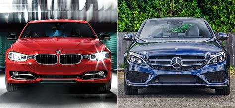 Mercedes C-class Vs Bmw 3-series
