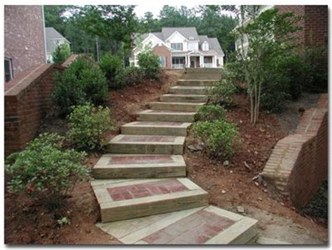 timber paver step combo  images landscape timbers
