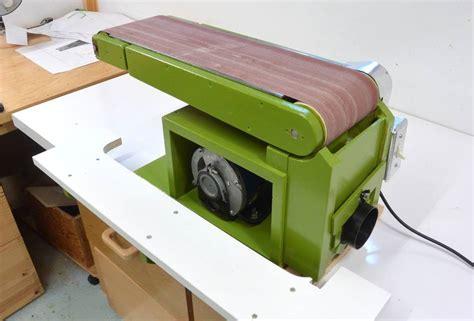 homemade belt sander