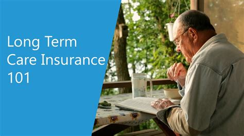 Long Term Care Insurance 101 - YouTube