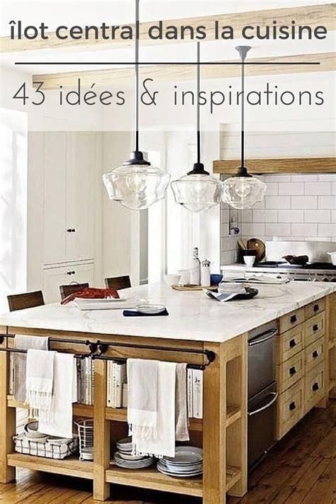 ilot dans cuisine ilot central table cuisine awesome ilot de cuisine design