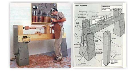 wood lathe plans woodarchivist