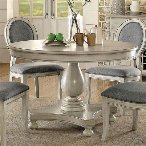 Antique White Dining Room Table by Siobhan Dining Table Antique White By Furniture Of