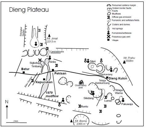 peta geologi dieng dongeng geologi