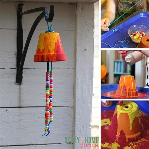 wind chime crafts for preschoolers kid s craft ideas garden wind chimes 252