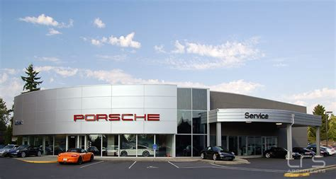 porsche dealership lrs architects automotive