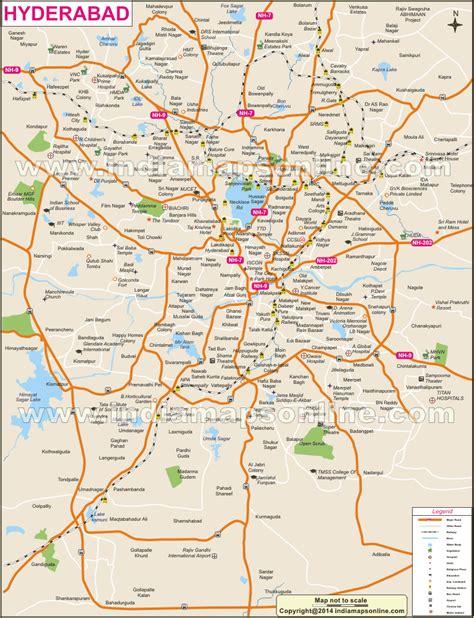 map  hyderabad city compressportnederland