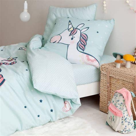 parure de lit drap housse licorne 1 personne le sp 233 cialiste des licornes