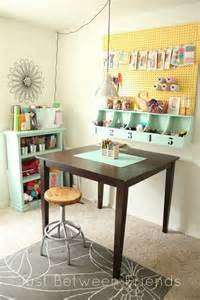 Small Craft Room Organization