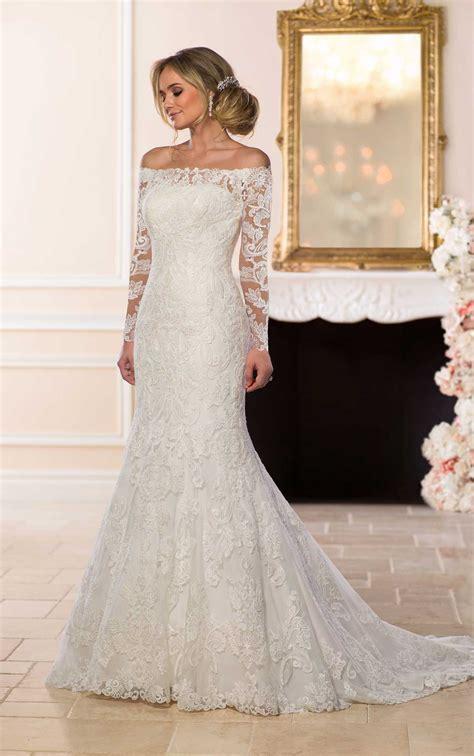 Off The Shoulder Lace Wedding Dress Stella York Wedding