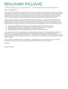Admin Cover Letter Uk Administrative Assistant Cover Letter Exles For Admin Livecareer