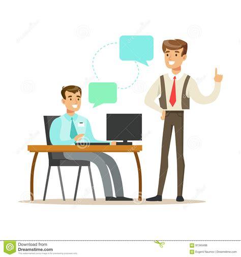 le bureau moderne collègues travaillant dans le bureau moderne avec l