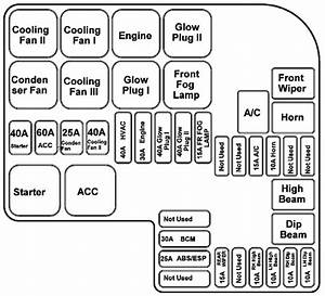 Tata Safari - Fuse Box Diagram