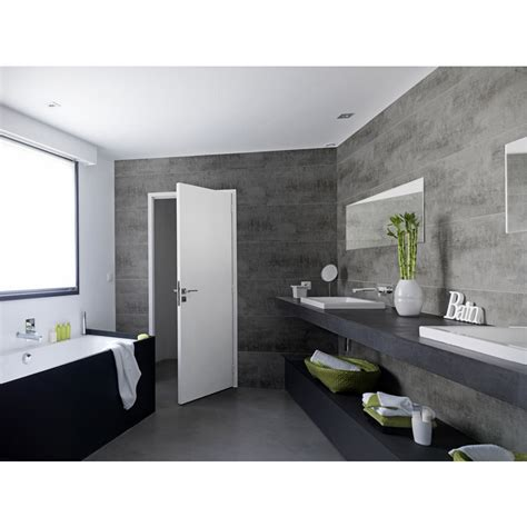 lambris bois salle de bain mzaol