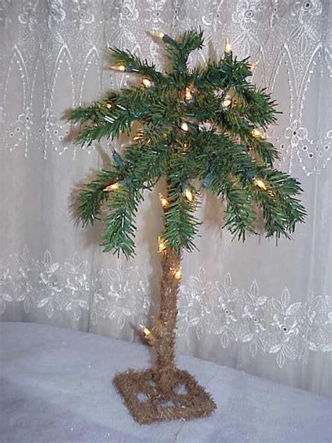 tropical lighted christmas tree lighted tropical hawaiian 1 5 palm tree d 233 cor ebay