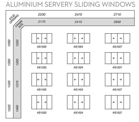 aluminium sliding window sizes wideline windows doors