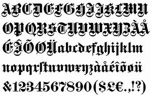 10 Old English Calligraphy Font Images - Calligraphy Fonts ...