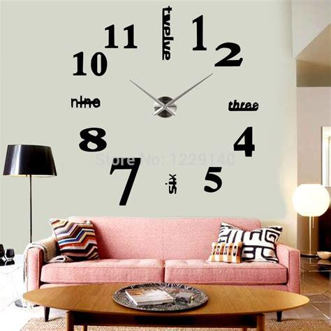 grande horloge murale loft