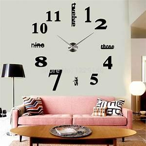 Grande Horloge Murale Originale : grande horloge murale loft ~ Teatrodelosmanantiales.com Idées de Décoration