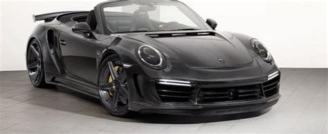 Topcar Stinger Gtr Carbon Edition Based On Porsche 911
