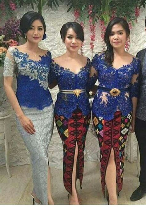 kebaya modern dress ideas  pinterest model