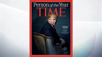 Trump Person Magazine Donald Named President Times