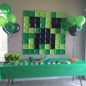 Minecraft Birthday Party Ideas – Party Printable Templates
