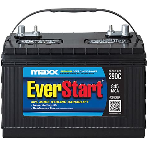 Everstart Maxx Lead Acid Automotive Battery, Group Size