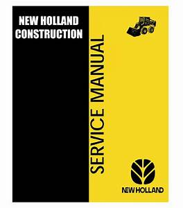New Holland Ls180  U0026 Ls190 Skid Steer Loaders Service