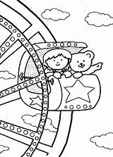 Coloring Carnival Pages Wheel Ferris Fair Rides State Food Watching Printable Friends Print Come Getcolorings Popular Pa Coloringhome sketch template