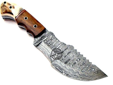 kitchen knives ratings damascus tracker knife custom handmade damascus steel