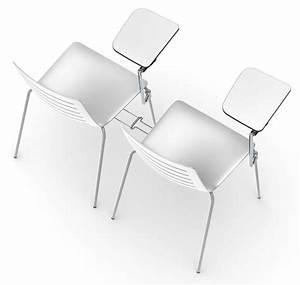 Stuhl Mit Schreibplatte : stuhl aus metall mit kunststoffschale f r moderne bars und k chen geeignet idfdesign ~ Frokenaadalensverden.com Haus und Dekorationen