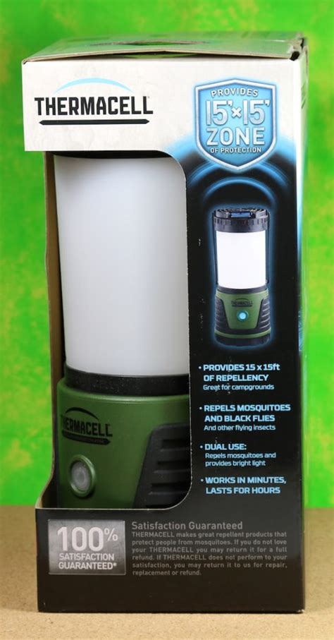 thermacell repellent c lantern review