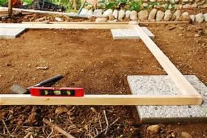 Fundament Gartenhaus Anleitung : anleitung gartenhaus fundament selber bauen ~ Whattoseeinmadrid.com Haus und Dekorationen