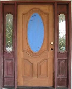 Refinishing exterior wood door general discussion for Refinishing exterior wood doors