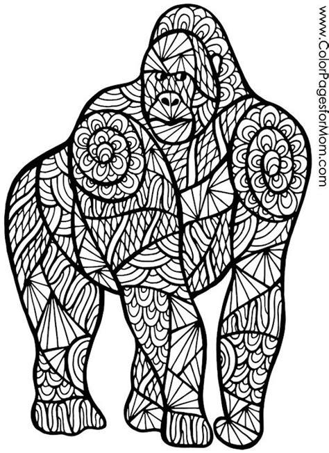 gorilla craft ideas  pinterest adult