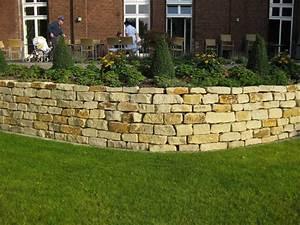 Natursteinmauern Im Garten : natursteinmauer galabau m hler traumgarten ~ Markanthonyermac.com Haus und Dekorationen