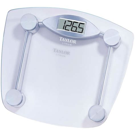 7506 chrome glass lithium digital scale