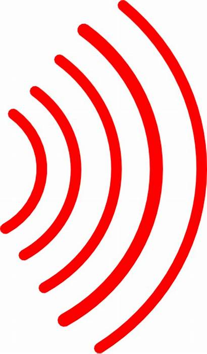 Waves Radio Clip Clipart Vector Noise Symbol