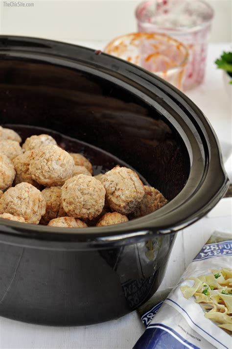 meatballs frozen cooked spicy cooker slow fully sauce sweet evenly toss throw coat each