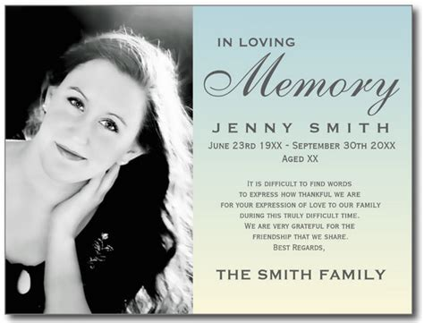 funeral prayer cards templates memorial announcement template hunecompany