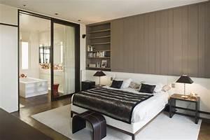 5 astuces pour transformer sa chambre a coucher en suite With chambre et salle de bain