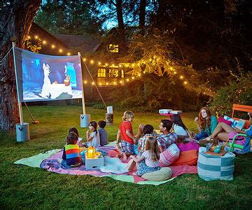 summer  night   backyard