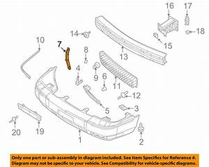 Mercury Ford Oem Grand Marquis Front Bumper