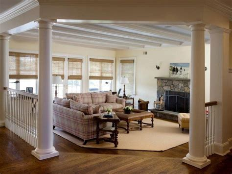 How To Use Living Room Columns To Create Rich Details Small Bathroom Makeover Pictures How To Design Your Black And White Border Tiles For Paint Ideas Designs A Ceramic Floor Rustic Sink Remodel