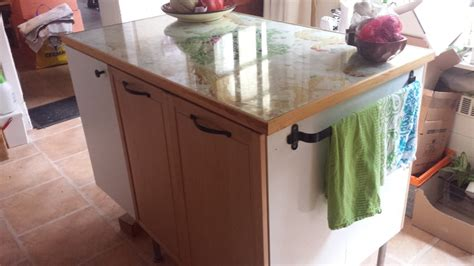 Canyon kitchen cabinets can assist with all remodeling projects. Top kitchen cabinets made into a kitchen island - IKEA Hackers