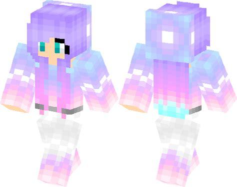 purple cute girl minecraft skin minecraft hub