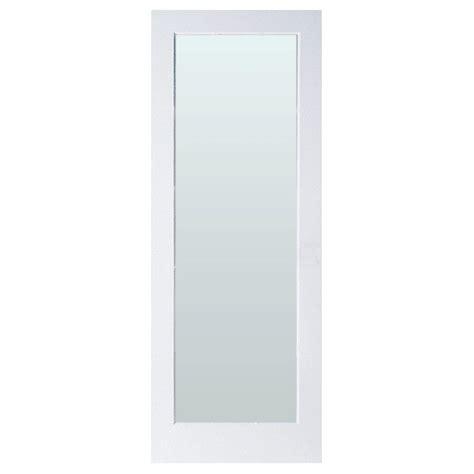 home depot glass interior doors masonite 30 in x 80 in lite solid primed mdf