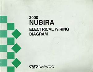 2000 Daewoo Nubira Factory Electrical Wiring Diagrams
