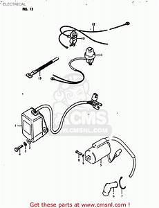 Suzuki Rm125 1980  T  Usa  E03  Electrical